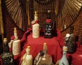 Custom Wine/Liquor Bottles with Led lights