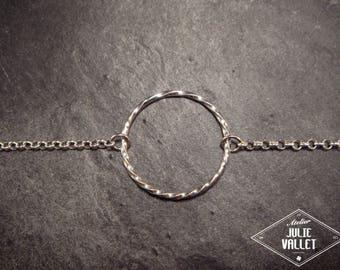 "Bracelet Silver 925 thousandths ""twist"""