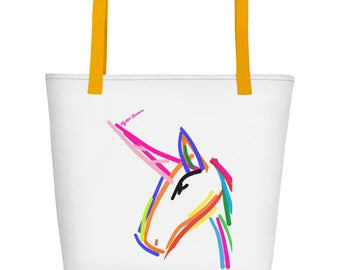 Mystic Unicorn Magic Fairy Tote Bag