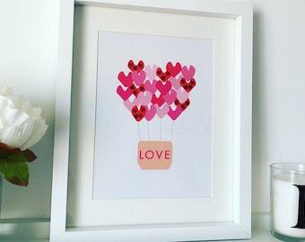Personalised Print - Love