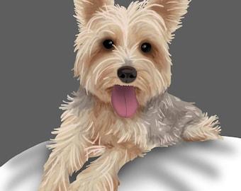 Custom Realistic Pet Portrait