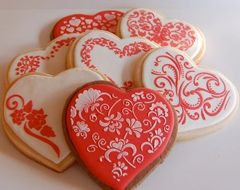 Valentines Day Sweetheart Cookies