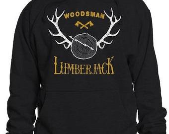 Lumberjack Woodsman Hoodie  