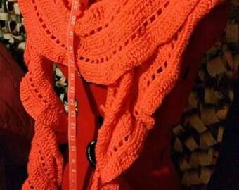 PinkHandmade Crocheted Scarf