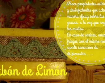 Lemon Medicinal Soap