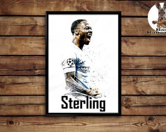 Sterling print wall art home decor poster