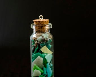 Recycled Plastic Bottle Necklace
