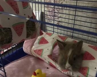 Tunnel for rabbit, guinea pig, ferret.