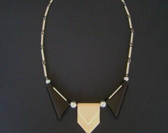 Jakob BENGEL necklace art deco