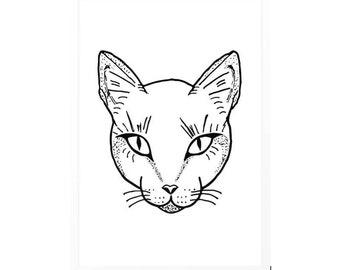 Cat Dotwork