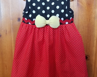 Minnie Mouse toddler dress, 3T