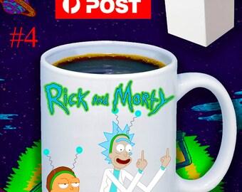 Funny Rude Rick And Morty 11oz Coffee Mug