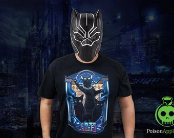 Black Panther Cat T-Shirt by Poison Apple Shirts - Cat Shirts Cat Tees