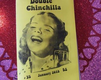 Double Chinchilla Art Zine #35