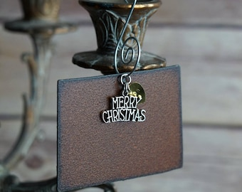 COLORADO Christmas Ornament MEDIUM, Colorado Ornament, Christmas Gifts 2018, Personalized Gift, State Christmas Ornaments COLORADO Ornaments