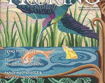Rug Hooking Magazine - March-April-May 2018