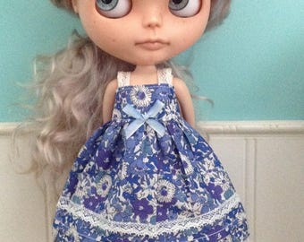 Sun Dress for Blythe - Liberty Tana Lawn Maxidress #4