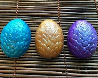 Dragon Egg Soap Set, Serpent Egg, Handmade Soap, Bar Soap, Dragons Egg, Reptile Egg, Dragon Decor, Fantasy Decor, Baby Dragon