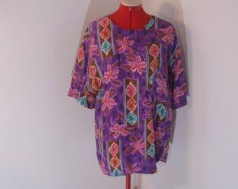 Ladies Silk Blouse by Leslie Fay Sportswear II size 1X