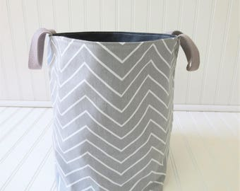 Toy Storage - Storage Bin - Storage Basket - Fabric Storage Bin - Fabric Storage Basket - Canvas Storage Bin
