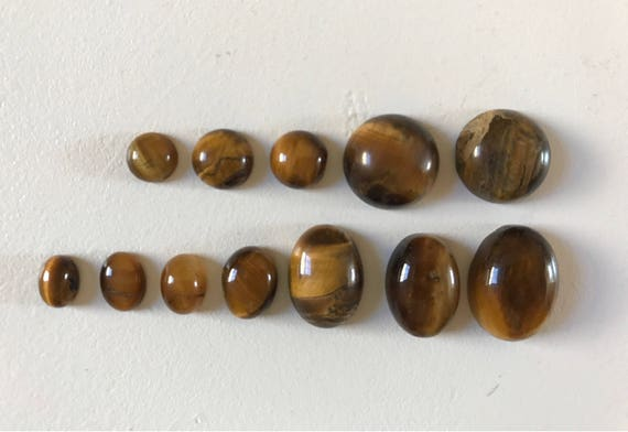 Tiger's Eye Cabochon Chattoyant (many sizes available)