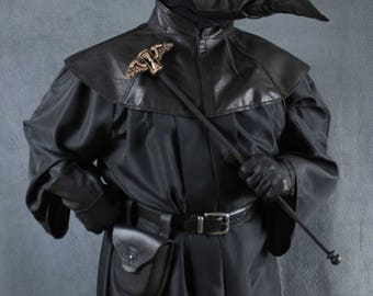 Plague Dr Costume, Jackdaw mask