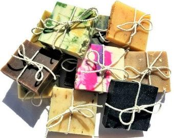Soap, Guest Soap, Soap Favors, Soap Samples, Natural Soap, Cold Process Soap, Hotel Soaps, Wedding Favors, Soap Sampler, Soap Gifts