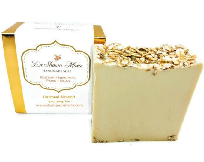 Oatmeal Almond Handmade Soap