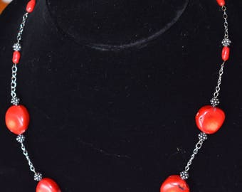 Handmade Necklace Sterling Silver