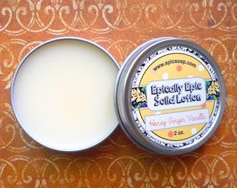 Honey Ginger Vanilla Many Purpose Solid Lotion - Limited Edition It's Still Summer Scent