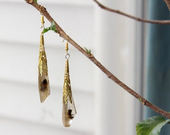 Honey Bee Chandelier/Drop Earrings