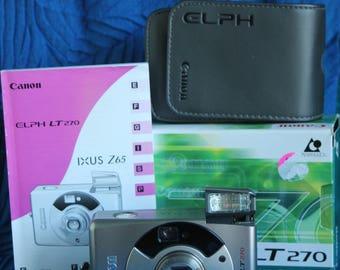 Canon Elph IXUS LT 270 APS camera working