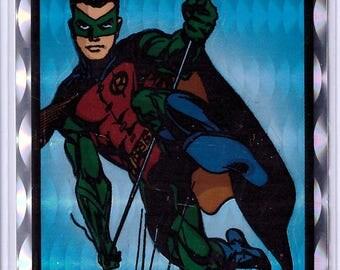 1994 DC Comics Batman Vendor Sticker ROBIN