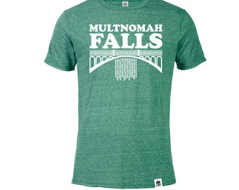 Multnomah Falls Oregon | Adult T-Shirt