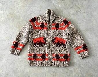 buffalo cowichan cardigan - 1211490