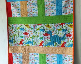 Dinosaurs Baby Quilt