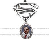 RESERVED FOR JUDY - 3 Necklaces with Superman Focal Chains Included - Free Shipping