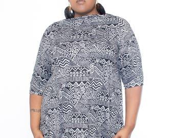 Plus Size Sweater Dress Knit Tent dress / tunic