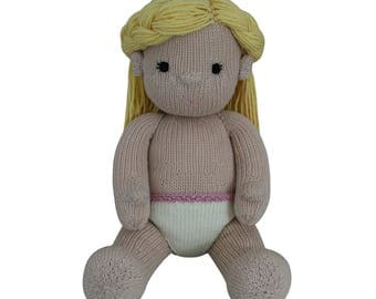 Girl Doll - Knit a Teddy