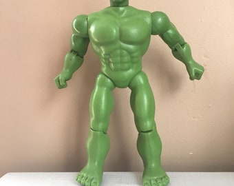 Old Large Vintage Incredible Hulk Action Figure