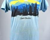 1980's Copper Mountain, Colorado T-Shirt - Size Medium, 50/50 Polyester/Cotton