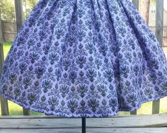 Girls Haunted Mansion Skirt by osodarling