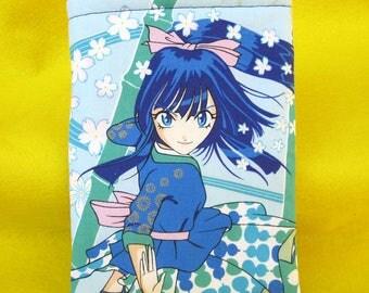 MINI BOOK SLEEVE- Japanese Anime - Book Pouch, Book Protector