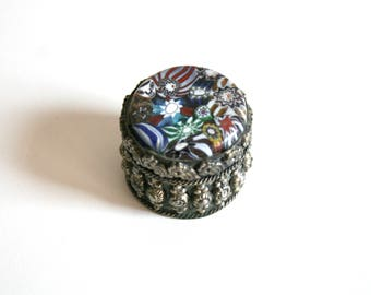 SALE India Trinket Pill Box