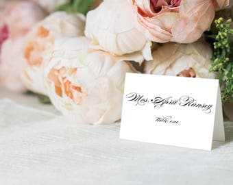 Wedding escort cards etsy escort cards place cards folded escort cards folded place cards tented escort junglespirit Gallery