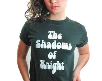 Vintage The Shadows of Knight Shirt 1980s The Legend Lives on Garage Rock 1960's Band L