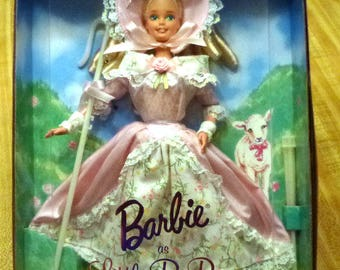 Vintage Barbie as Little Bo Peep Collector Edition Mattel Doll New in Box, 1996