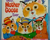 Richard Scarry's Best Mother Goose Ever #15578, Large Hardcover Golden Book, 1970