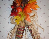Reserved for Rachel - Handwoven Indian Corn from Basket Reed