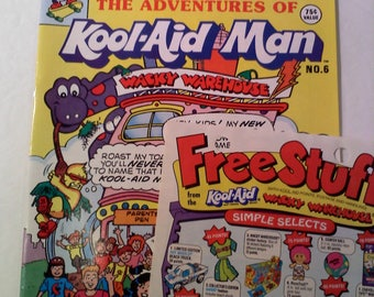 Adventures of Kool-Aid Man Comic Book and Order Form